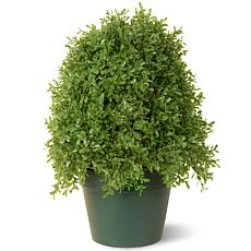 1-1/4' Artificial Topiary Boxwood Tree