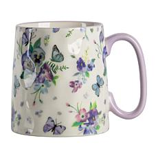 10 Strawberry Street Bella Butterfly Boutique Mug 4-Pack