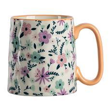 10 Strawberry Street Bella Ditzy Floral Pastel Mug 4-Pack