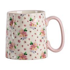 10 Strawberry Street Bella Pink Flower Mug 4-Pack