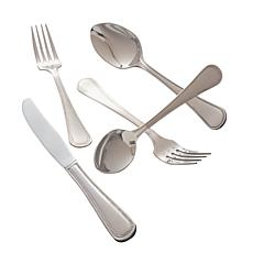 10 Strawberry Street Pearl 20-piece Flatware Set
