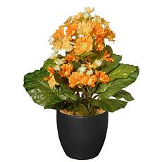 "12"" Artificial Potted Primula Plant"