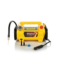 12-Volt 4-in-1 Portable Digital Air Compressor