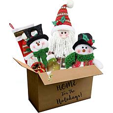 196-Pc Home for the Holidays Traditional Christmas Ornament/Décor Set