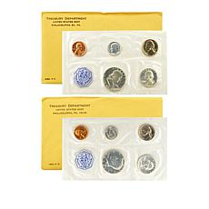 1963 and 1964 Transition Proof Sets - Franklin to Kennedy Half Dollar