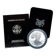 1994 P-Mint Proof Silver Eagle Dollar Coin