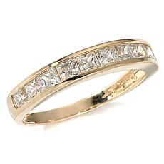 1ctw Absolute™ Princess Cut Channel 14K Band Ring