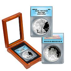 2003 PR70 ANACS DCAM Silver Eagle Dollar Coin in Box