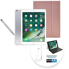 "2018 Apple iPad® 9.7"" 32GB Tablet w/Apple Pencil and Keyboard Case"