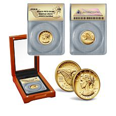 2018 PR70 DCAM American Liberty 24K Gold $10 Coin