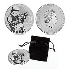 2018 Star Wars Stormtrooper LE Silver Bullion Country of Niue $2 Coin