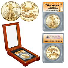 2019 PR70 ANACS First Day of Issue Limited Edition $50 Gold Eagle Coin