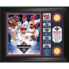 2019 World Series Champions Banner Bronze Coin Photo Mint