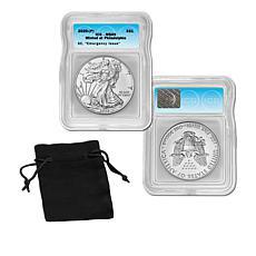 2020 MS69 ICG Emergency Issue Silver Eagle Dollar Coin