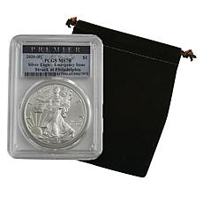 2020 MS70 P-Mint Premier PCGS Emergency Issue Silver Eagle Dollar Coin