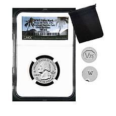 2020-W MS65 NGC Early Releases American Samoa Coin with V75 Privy Mark