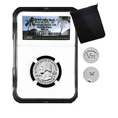 2020-W MS66 NGC Early Releases American Samoa Coin with V75 Privy Mark