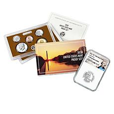 2020-W PF69 NGC Jefferson Nickel and U.S. Mint Proof Set