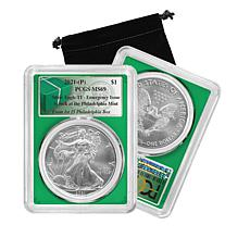 2021 MS69 from First 25 Boxes Philadelphia Mint Emergency Silver Eagle