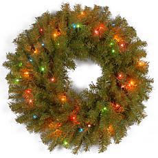 "24""  Norwood Fir Wreath w/Multicolor"