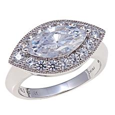 2.48ctw Absolute™ Marquise and Pavé Ring