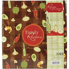 "3-Ring Scrapbook Kit - 5"" x 7"" Recipe Cards"