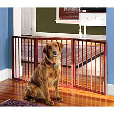 3 Section Wooden Pet Gate