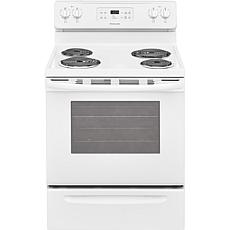30 In. Freestanding Electric Range White