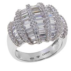 3.59ctw Absolute™ Baguette and Round Dome Ring