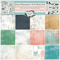 """49 And Market Collection Pack 12"""" x 12"""" - Vintage Artistry Anywhere"""