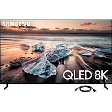 55 Inch Class Q900 QLED Smart 8K UHD TV and 6 Foot HDMI Cable