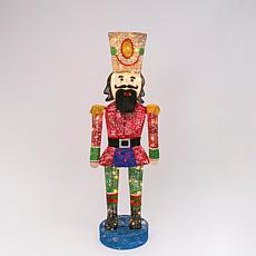 "58""H Indoor/Outdoor Christmas Nutcracker"