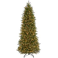 7-1/2' Jersey Fraser Pencil Slim Tree w/Lights