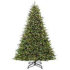 9' Franklin Fir Artificial Christmas Tree w/1000 Clear Lights
