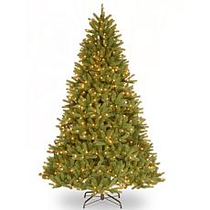 "9' Grande Fir ""Feel-Real"" Tree w/Lights"