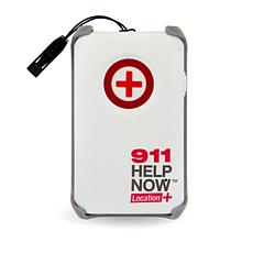 911 Help Now Location+ Emergency Caller Pendant with GPS Locator