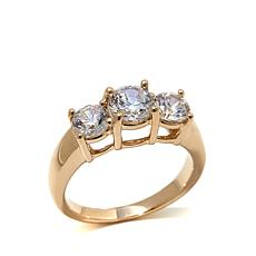Absolute™ 1.9ctw Cubic Zirconia 14K Gold Ring