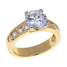 Absolute™ 2.48ctw Round Solitaire CZ Ring