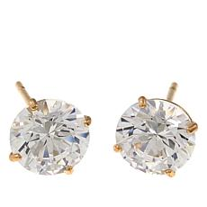Absolute™ 2ctw CZ 14K Round Stud Earrings