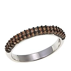 Absolute™ .59ctw Champagne Cubic Zirconia  Band Ring