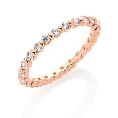 Absolute™ Prong-Set Round Eternity  Ring