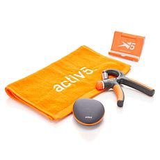 Activ5 Bluetooth Portable Fitness Device 4-piece Set
