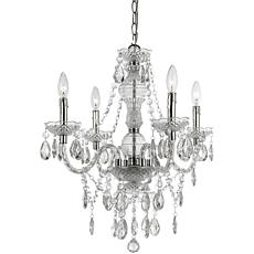 AF Lighting Naples Four Light Mini Chandelier - Clear