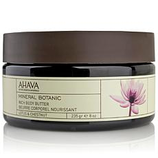 AHAVA Lotus Chestnut Body Butter