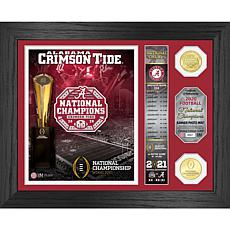 "Alabama 2020/21 College Football Ntnl Champs ""Banner"" Coin Photo Mint"
