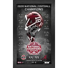 Alabama 2020/21 Football National Champions Team Pride Panoramic