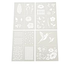 Aladine Build-a-Scene Reusable Stencil Set