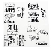 Aladine Sentiments Doodler Stamp Set