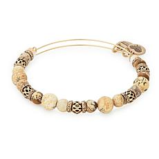 "Alex and Ani ""Cove"" Beaded Expandable Bangle"