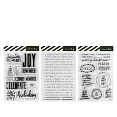 "Ali Edwards December Daily® 4"" x 6"" Stamp Kit"